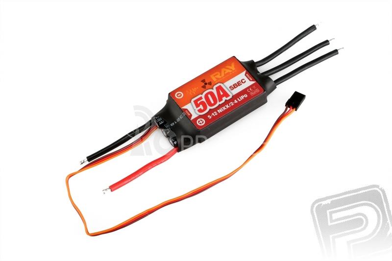 Combo set RAY C4250/07   RAY R-50SB 50A SBEC regulátor