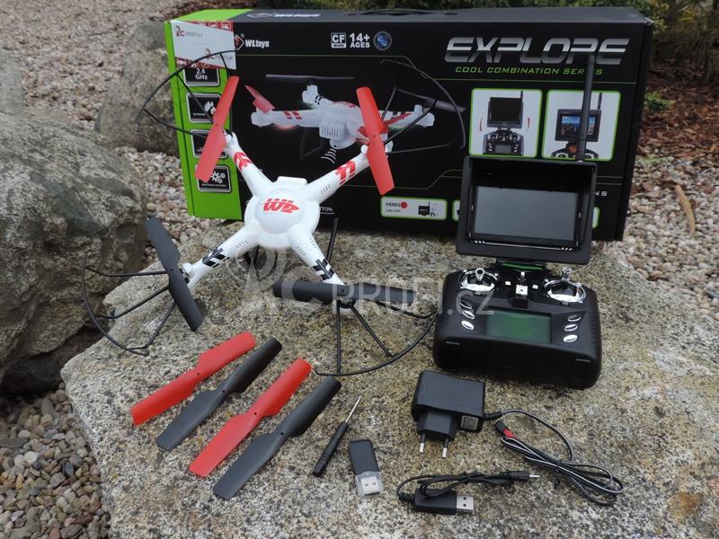 Dron Super Aviator FPV
