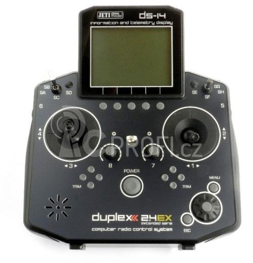 DS-14 EX, mode 2 a 4 (CZ SW)