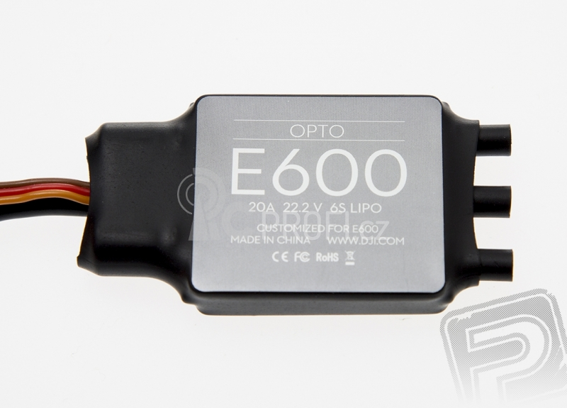 E600 propulsion system - set 4x motor, regulátor, vrtule