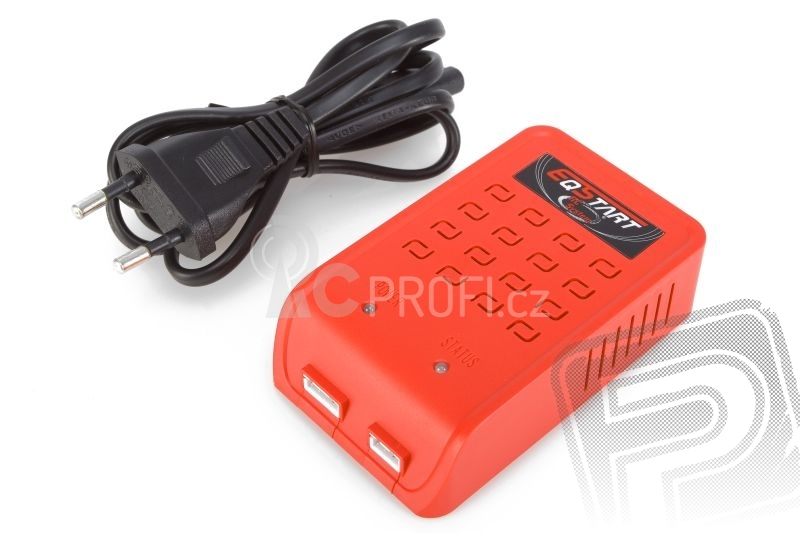 EQ-Start 230V nabíječ 2-3 Li-poly/Li-Fe
