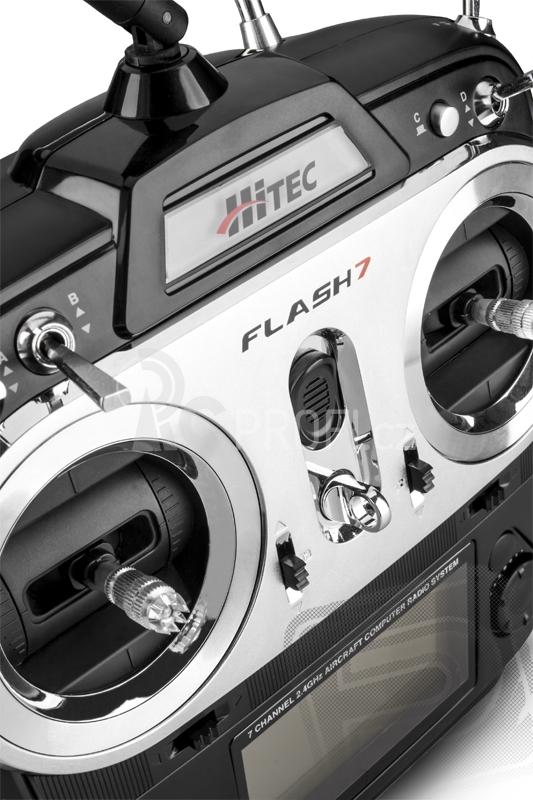 Flash 7 2,4GHz , přijímač OPTIMA 7 (Mode 2/4)