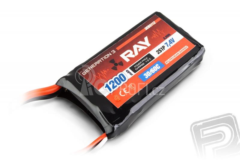 G3 RAY Li-Pol 1200mAh/7,4 30/60C Air pack 8,9Wh