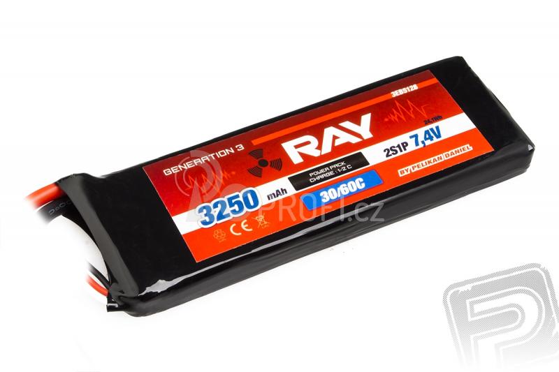 G3 RAY Li-Pol 3250mAh/7,4 30/60C Air pack 24,1Wh