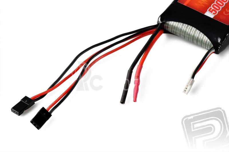 G3 RAY Li-Pol 5000mAh/7,4 3/6C přijímačový pack 37,0Wh