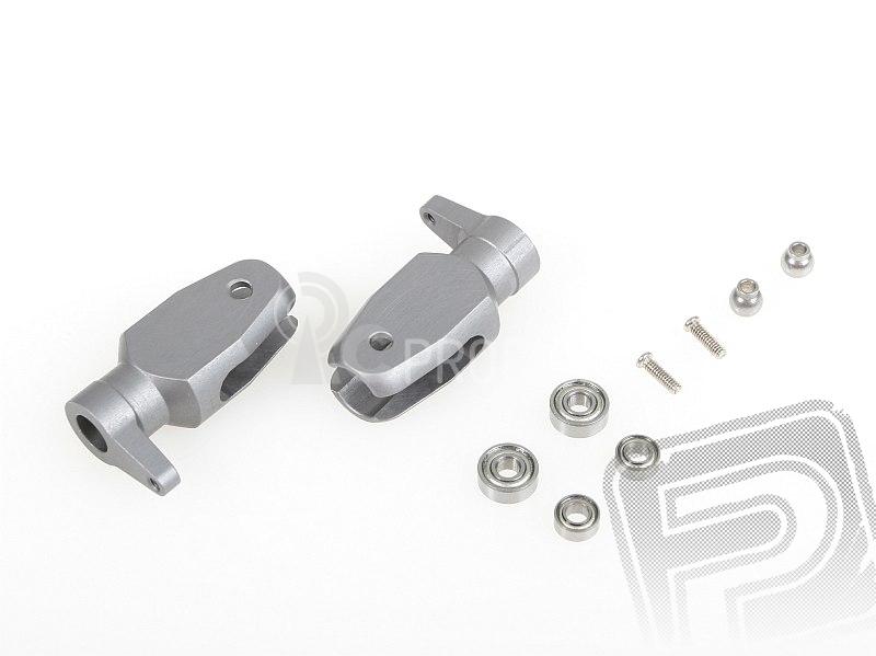 Sada kovových unašečů listů hl.rotoru