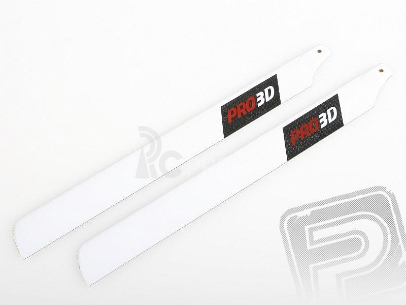 Griffin 450 - Uhlíkové listy 3D(325mm)