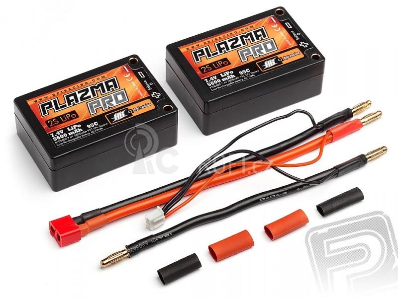 HPI - PlazmaPRO 7,4V 5600mAh 95C LiPo HARDCASE - SADDLE PACK