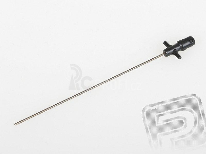 Hřídel horního rotoru - V4 COLIBRI, Solo V1