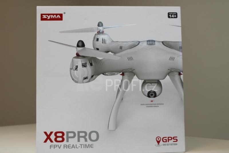 Dron Syma X8PRO, bílá