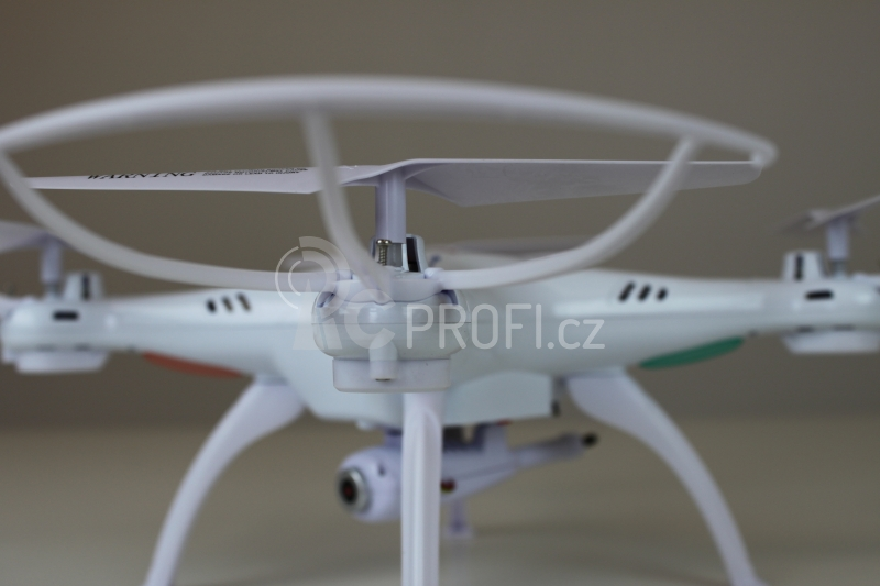 RC dron Syma X5SW, bílá