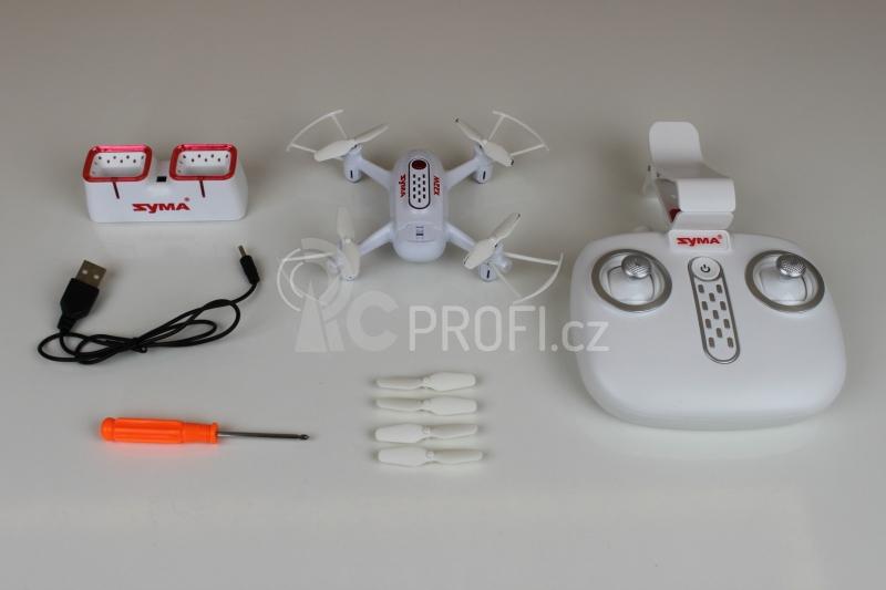 Dron Syma X22W, bílá