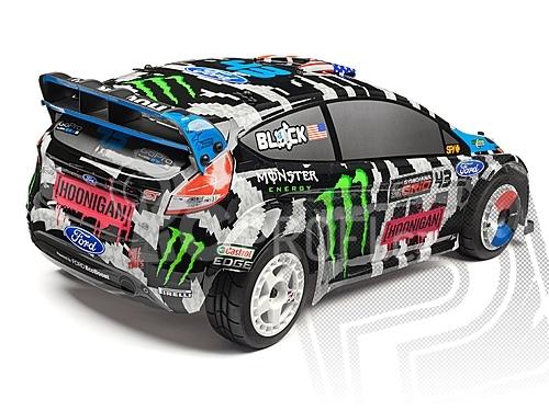 Karoserie lakovaná Ken Block 2014 Ford Fiesta (WR8)