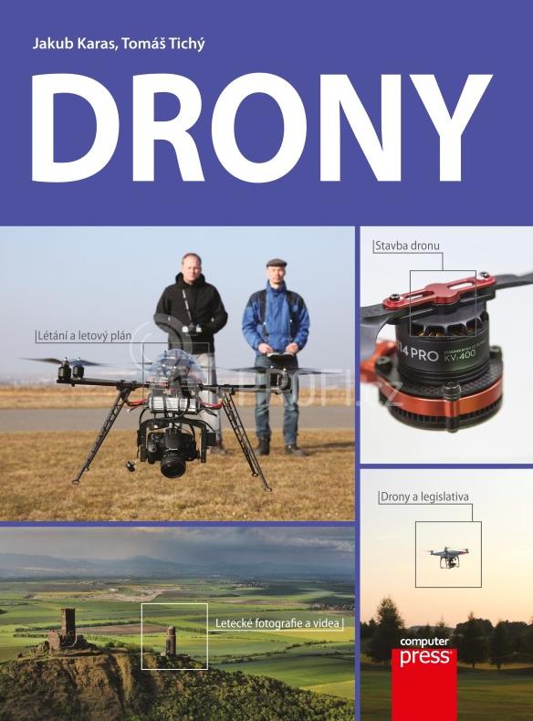Kniha Drony