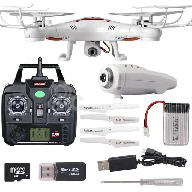 RC dron SPL X5C-1, bílá