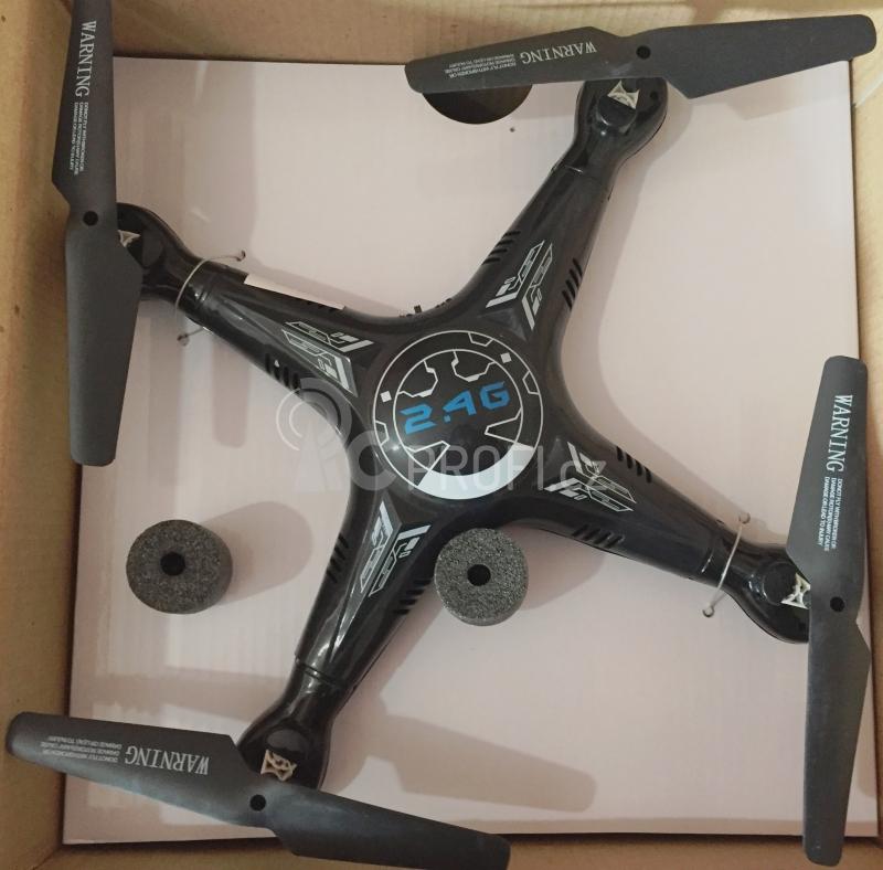 RC dron SPL X5C-1, černá