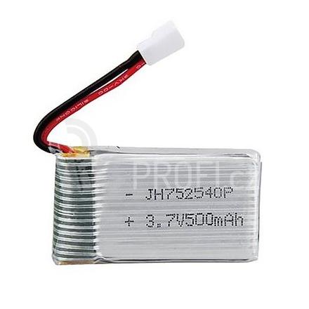 Li-Pol baterie 3.7V 500mAh 25C - Syma X5C