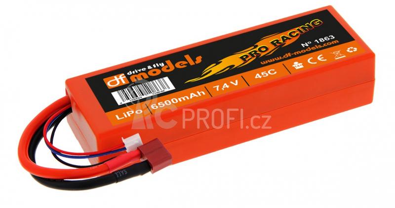 LiPo Akku 7,4 V / 6500 mAh - 45C Pro Racing
