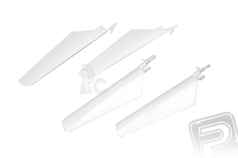 Listy rotoru, sada (bílá) - V4 COLIBRI, Solo V1