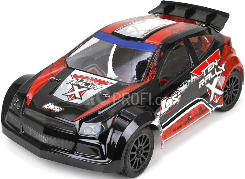 RC auto Losi TEN Rally-X 1:10 4WD RTR