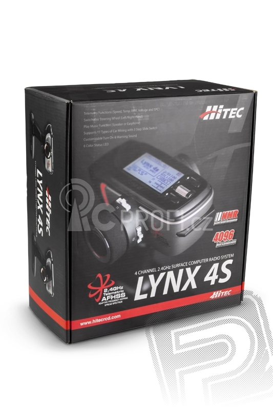 LYNX 4S 2,4GHz + RX Proton 4