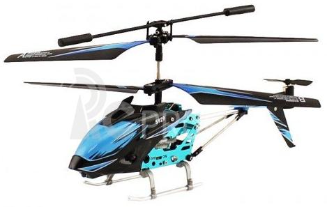 RC vrtulník WL Toys S929, modrá