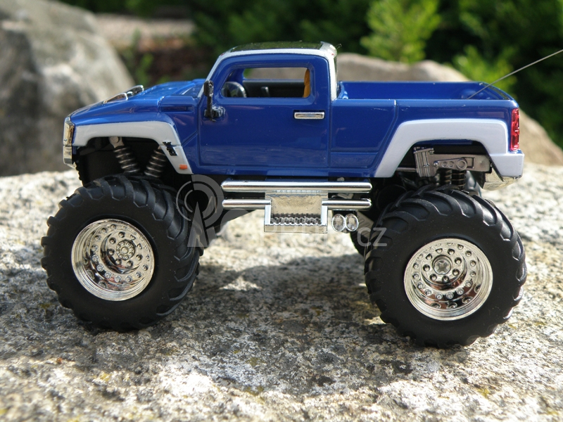 Mini RC Monster Truck, modrý