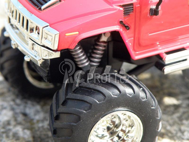 Mini RC Monster Truck, červená