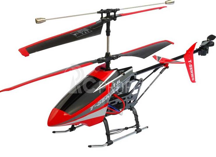 RC vrtulník MJX T611, červená