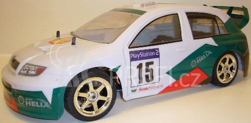 RC auto Fabia WRC