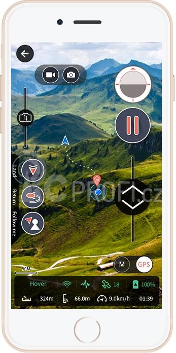 EHANG GHOSTDRONE 2.0 VR, černá (iOS)