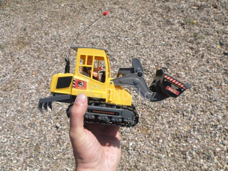 RC pásový nakladač RE-6909