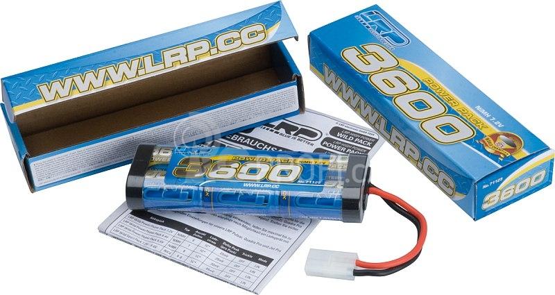 Power Pack 3600 - 7.2V - 6 článkový NiMH Stickpack