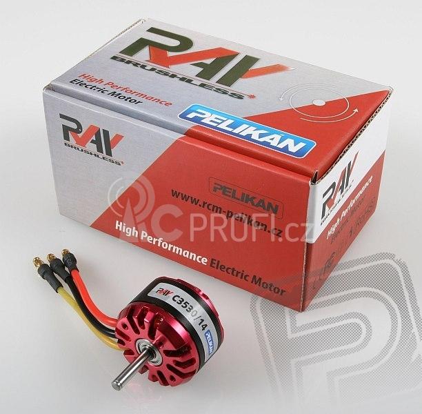 RAY C3530/14 outrunner brushless motor (5mm hřídel)
