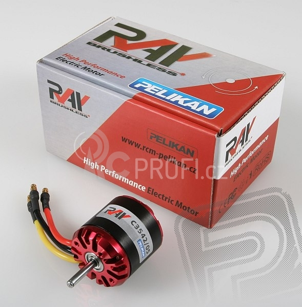 RAY C3542/05 outrunner brushless motor (5mm hřídel)