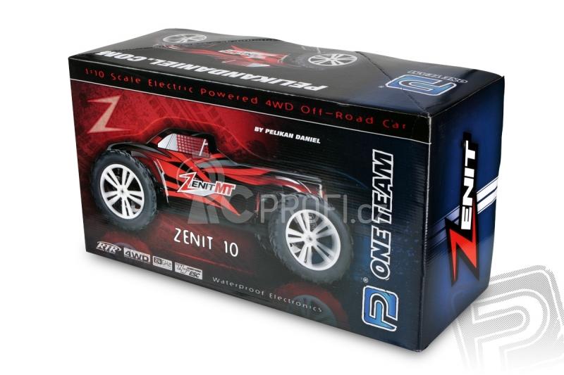 RC auto HIMOTO Zenit MT, červená