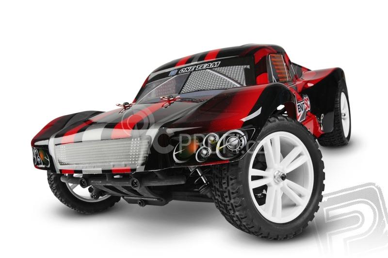 RC auto HiMoto ZENIT SC Brushless, červená