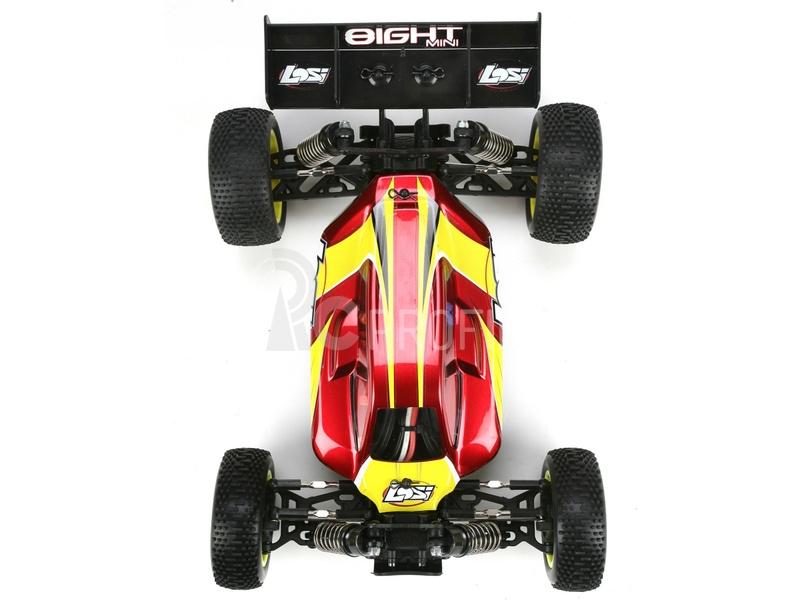 RC auto Losi Mini 8IGHT 1:14, červená