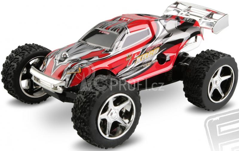 RC auto Micro car, červená