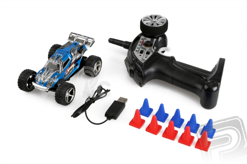 RC auto Micro car, modrá