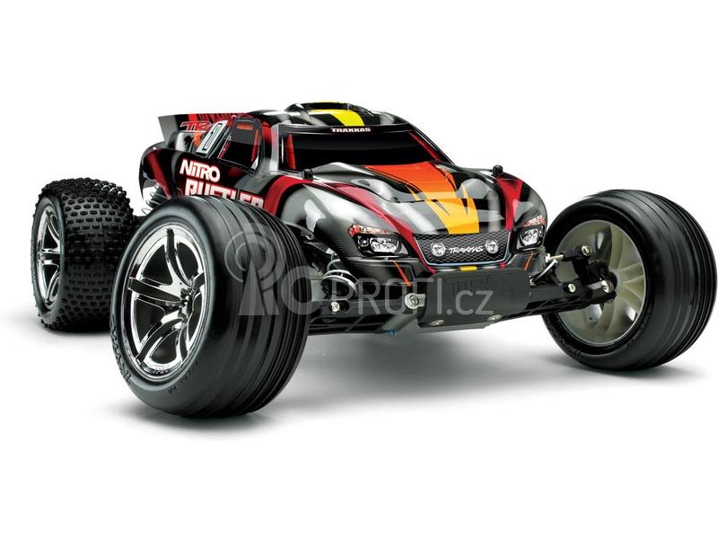 RC auto Traxxas Nitro Rustler Stadium Truck