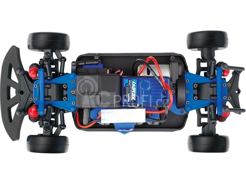 RC auto Traxxas Rally 1:18 4WD TQ RTR, modrá