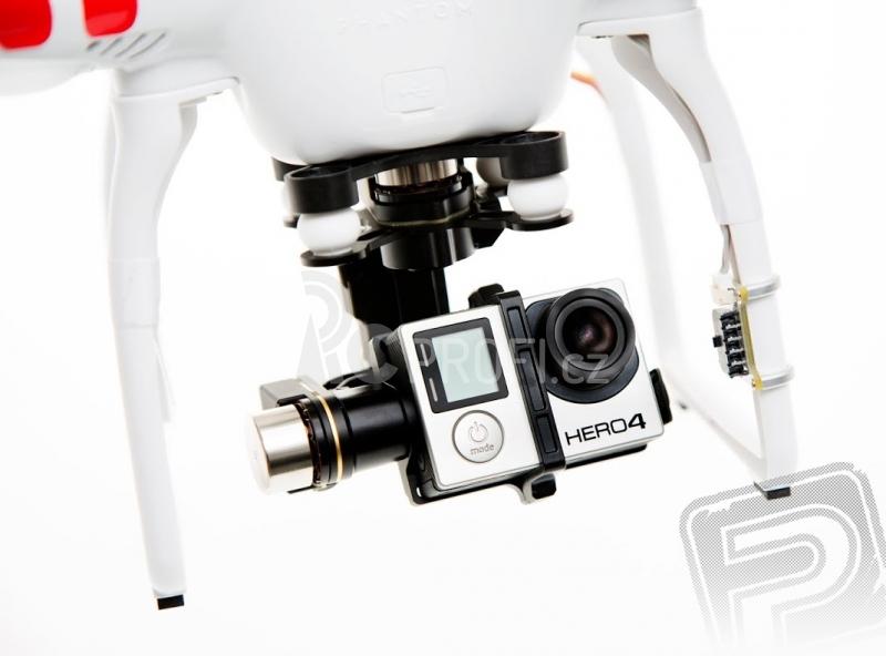 RC dron DJI F309 Phantom 2 +H4-3D + Nabíjecí stanice