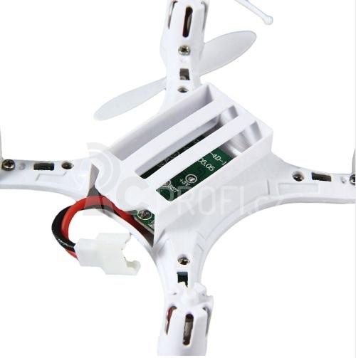 RC dron JJRC H8 mini, bílá