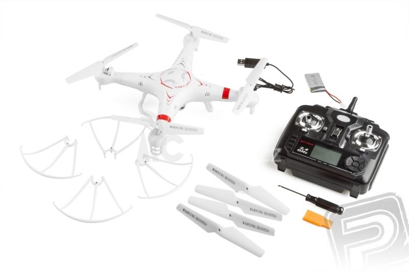 RC dron Spyrit, mód 2