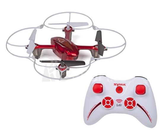 Dron Syma X11C s HD kamerou, červená