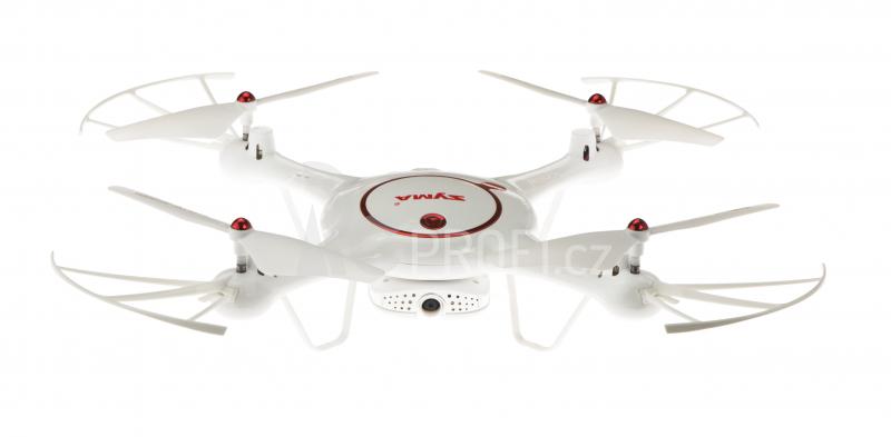 Dron Syma X5UW-D, bílá