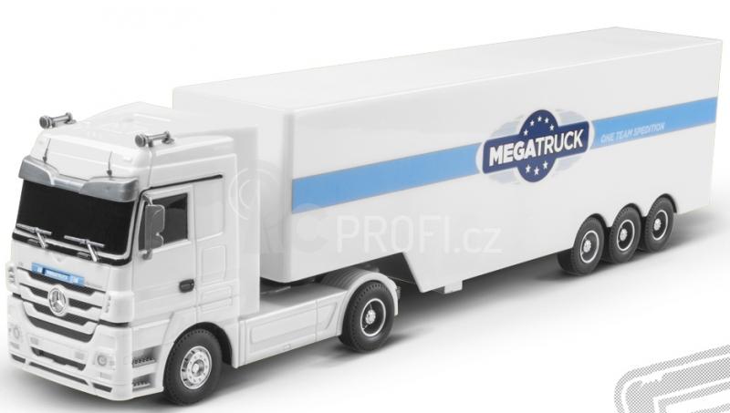 RC kamion Mercedes Benz - bílá