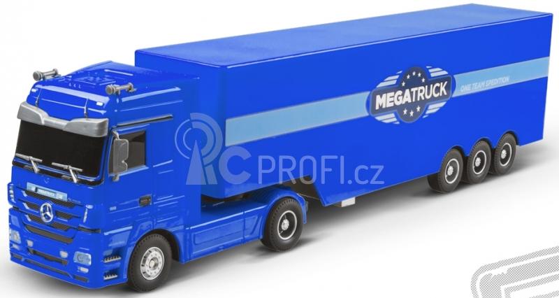 RC kamion Mercedes Benz - modrá