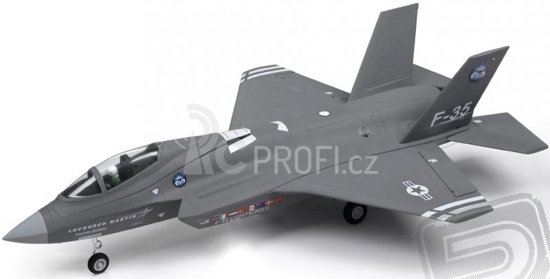 RC letadlo F-35 Ligthning II, šedý